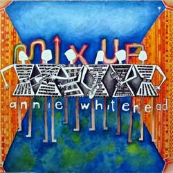 винил LP ANNIE WHITEHEAD ''Mix Up'' (1985 German press, 207 255, vg+/ex-)