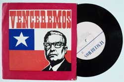 винил LP VENCEREMOS (7'') (RARE USSR press, mint/ex)
