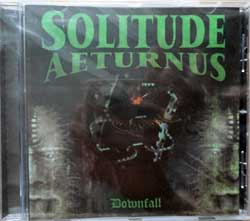 SOLITUDE AETERNUS ''Downfall'' (1996 RI 2014 Holland press, HHR 2014-21, new, sealed) (CD)