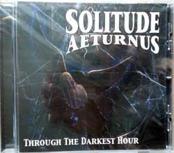 SOLITUDE AETERNUS ''Through The Darkest Hour'' (1994 RI 2014 Holland press, HHR  2014-20, new, sealed) (CD)