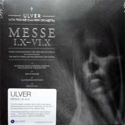 ULVER with TROMSO CHAMBER ORCHESTRA ''Messe I.X-VI.X'' (2013 UK press, hot silver foil stamping, original sticker, KSCOPE267, new, sealed) (digisleeve) (CD)