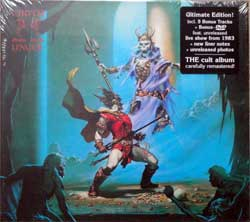 CIRITH UNGOL ''King Of The Dead'' (1984 RI 2017 German press, ultimate deluxe edition, 5 bonustracks, bonus DVD, remastered, original sticker, 3984-15513-0, new, sealed) (digibook) (CD)