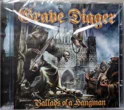 GRAVE DIGGER ''Ballads Of A Hangman'' (2009 German press, NPR 271 CD, new, sealed) (CD)