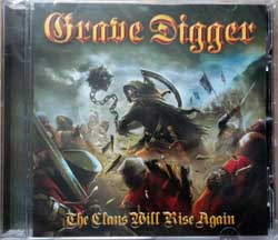 GRAVE DIGGER ''The Clans Will Rise Again'' (2010 German press, NPR 349 CD, new, sealed) (CD)