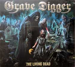 GRAVE DIGGER ''The Living Dead'' (2018 German press, limited edition, bonustrack, NPR 804 DP, new, sealed) (digipak) (CD)