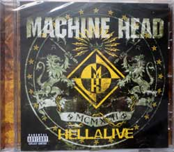 MACHINE HEAD ''Hellalive'' (2003 EU press, RR 8437-2, new, sealed) (CD)