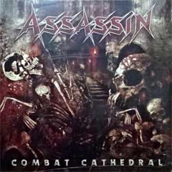 винил LP ASSASSIN ''Combat Cathedral'' (2016 German press, with CD, RED VINYL, SPV 269421 LP, new, sealed)