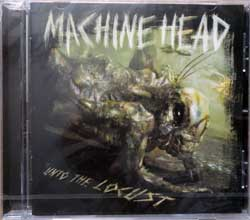 MACHINE HEAD ''Into The Locust'' (2011 EU press, RR7702-2, new, sealed) (CD)