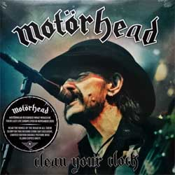винил LP MOTORHEAD ''Clean Your Clock'' (picture-discs) (2LP-gatefold) (2017 German press, Record Store Day limited edition 5000 copies, UDR062P52, new, sealed)