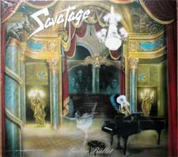 SAVATAGE ''Gutter Bullet'' (1989 RI 2011 German press, 2 bonustracks, 0204052ERE, new, sealed) (digipak) (CD)
