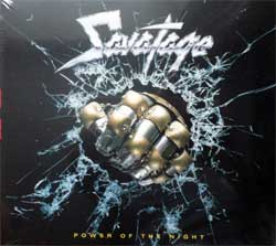 SAVATAGE ''Power Of The Night'' (1985 RI 2011 German press, 2 bonustracks, 0204022ERE, new, sealed) (digipak) (CD)