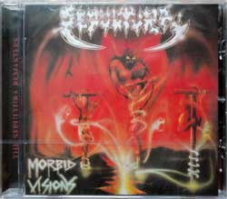 SEPULTURA ''Morbid Visions/Bestial Devastation'' (1986/1985 RI 2004 EU press, 2 bonustracks, RR 8765-2, new, sealed) (CD)