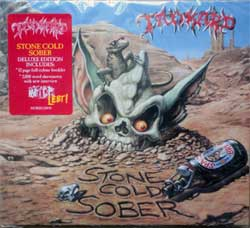 TANKARD ''Stone Cold Sober'' (1992 RI 2017 EU press, deluxe edition, 3 bonustracks, 12 page booklette, original sticker, NOISECD043, new, sealed) (digipak) (CD)