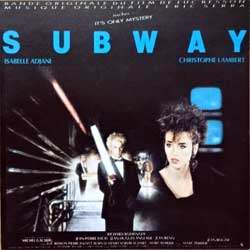 ERIC SERRA ''Bande Originale Du Film Subway'' (1985 France press, GMD 9702, matrix RCA GMD 9702 MPO 01 @, ex-/mint) (CD)