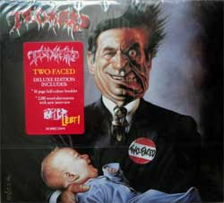 TANKARD ''Two-Faced'' (1993 RI 2017 EU press, deluxe edition, 5 bonustracks, 16 page booklette, original sticker, NOISECD044, new, sealed) (digipak) (CD)