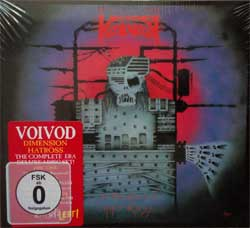VOIVOD ''Dimension Hatross'' (3CD-box) (1988 RI 2017 EU press, deluxe edition, bonus material, 20 page booklette, original sticker, NOISE2CDDVD017, new, sealed) (digipak) (CD)