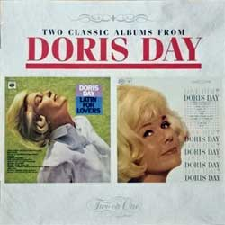DORIS DAY ''Latin For Lovers/Love Him'' (1964/1963 RI 1995 France press, 2 original albums on 1 CD, 481018 2, matrix Sony Music S3148101810-0101 41 A0, mint/mint) (CD)