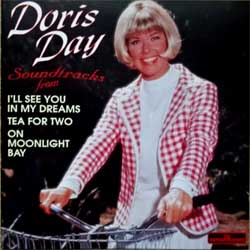 DORIS DAY ''Soundtracks from ''I'll See You In My Dreams - Tea For Two - On Moonlight Bay'' (1995 EEC (Italy) press CD 342, matrix 3173 IFPI L211 CD 342, mint/mint) (CD)