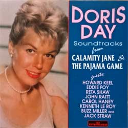 DORIS DAY ''Soundtracks From ''Calamity Jane'' & ''The Pajama Game'' (1994 EEC (Italy) press, CD 343, matrix Manufactured In Italy By V.A.I. 7S523451 CD 343, mint/mint) (CD)