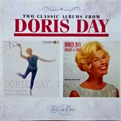 DORIS DAY ''Cuttin' Capers/Bright & Shiny'' (1958/1961 RI 1994 France press, 2 original albums on 1 CD, 4775932, matrix DADC Austria 477593-4 13 A2, mint/mint) (CD)