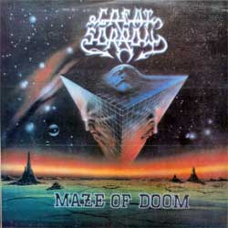 винил LP GREAT SORROW ''Maze Of Doom'' (1993 Russian MEGA RARE press, insert, FH007, near mint/near mint) (D)