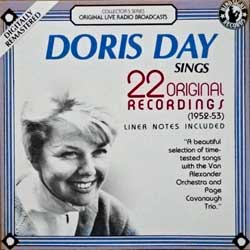 DORIS DAY ''Sings 22 Original Recordings (1952-53)'' (1987 USA press, HCD-411, matrix Made by Discovery Systems - An American Company 1NP0100B, ex-/mint) (CD)