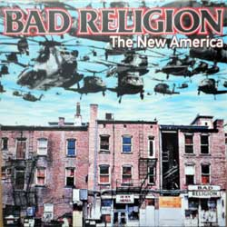 винил LP BAD RELIGION ''The New America'' (2000 RI 2018 EU press, 6998-1, new, sealed)