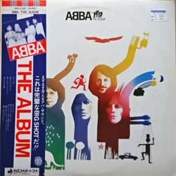 винил LP ABBA ''The Album'' (1977 Japan press, Orange & Blue Obi, innersleeve, insert, DSP-5105, mint/ex)