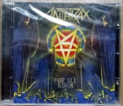 ANTHRAX ''For All Kings'' (2016 Russian press, 27361 35672, mint/mint, still sealed) (CD)