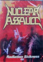 NUCLEAR ASSAULT ''Radiation Sickness'' (2008 Soyuz press, sealed) (DVD)