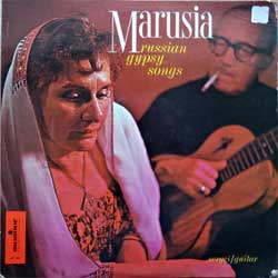 винил LP MARUSIA ''Russian Gypsy Songs'' (approx 1960 USA press, booklette, laminated, MP 565, vg/vg+)
