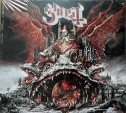 GHOST ''Prequelle'' (2018 EU press, gatefold digisleeve, LVR00381, new, sealed) (CD)