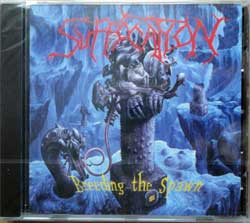 SUFFOCATION ''Breeding The Spawn'' (1993 RI EU press, RR 9113-2, new, sealed) (CD)