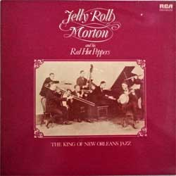 винил LP JELLY ROLL MORTON and his RED HOT PEPPERS ''The King Of New Orleans Jazz'' (1959 RI 1981 UK press, INTS 5092 (NL 43434), ex/ex)