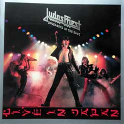 JUDAS PRIEST ''Unleashed In The East'' (1979 RI 2001 EU press, silver foil stamping, 4 bonusracks, 5021302, matrix Sony DADC S5021302000-0101 23 A8, mint/near mint) (CD)