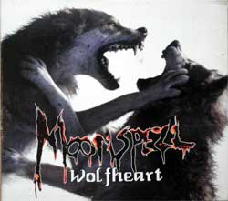 MOONSPELL ''Wolfheart'' (1995 German press, 77112-2, matrix DURECO [01] 84 77112-2, ex-/vg+) (digipak) (CD)