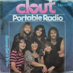 "винил LP CLOUT ""Portable Radio - Gonna Get It To You"" (7""single) (1980 German press, ex/vg)"