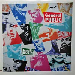 "винил LP BEAT, SPECIALS (GENERAL PUBLIC) ""Hand To Mouth'' (1986 Canada press, innersleeve, IRS-5782, ex+/ex+)"