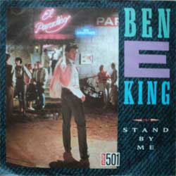 "винил LP BEN E. KING ""Stand By Me - Yakety Yak"" (7""single) (1987 German press, vg+/vg+)"