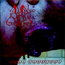 ANAL GRIND ''Anal Cannibal'' (2007 RI 2009 Russian press, golden CD, pit-work, COY 66-09, near mint/mint) (CD)