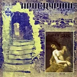 APOCRYPHAL/DIALECTIC SOUL ''In Labyrinth Of Time/Dialectic Soul'' (2003 Belarus press, PR 003, ex+/mint) (CD)