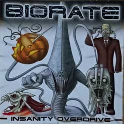 BIORATE ''Insanity Overdose'' (2009 Russian RARE press, near mint/mint) (CD-R)
