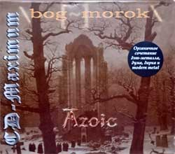 BOG-MOROK ''Azoic'' (2003 Russian press, U-card, CDM 0803-1472, mint/mint) (CD)