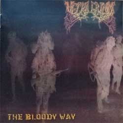 NECROGRIND ''The Bloody Way'' (2007 Russian press, COY 41-07, vg+/mint) (CD)