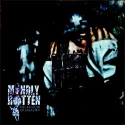 MINDLY ROTTEN ''Proliferation Of Disaster'' (2011 Russian press, golden CD, pit-work, COY 103-11, mint/mint) (CD)
