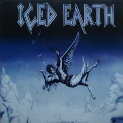 винил LP ICED EARTH ''Enter The Realm Of Purgatory'' (2010 a'la 1989 German press, RARE limited edition 200 copies, handnumbered (copy # 018), mint/mint, new)
