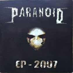 PARANOID ''EP-2007'' (2007 Russian RARE press, ex/near mint) (CD)