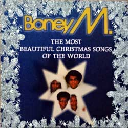 BONEY M ''The Most Beautiful Christmas Songs Of The World'' (1992 German 1st press, 74321119332, matrix Sonopress G-5932/4321119332 A, vg+/mint) (CD)