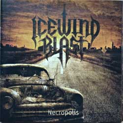 ICEWIND BLAST ''Necropolis'' (2008 Russian RARE press, MAXM001, mint/mint) (CD)