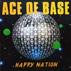 ACE OF BASE ''Happy Nation'' (1993 German press, 517 749-2, matrix 517 749-2 01> BY MADE IN GERMANY BY PMDC, ex+/mint) (CD)